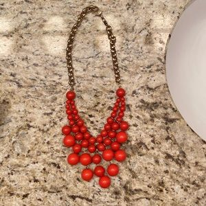 Fossil Bauble Necklace
